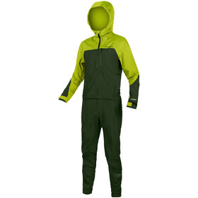 Endura SingleTrack Onesie Men, bilious green